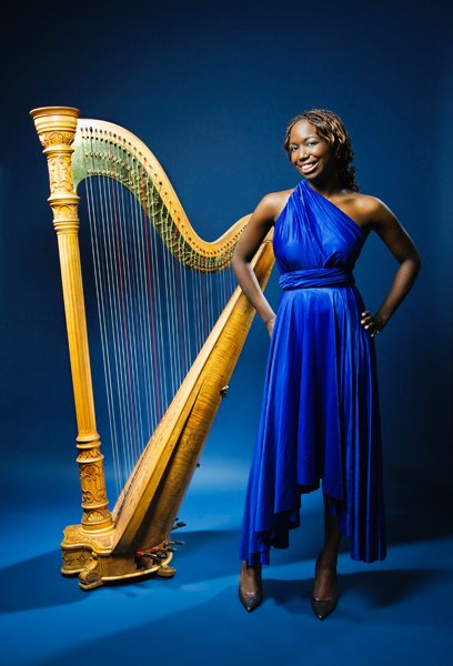 photo 4 of Harpist, Brandee Younger