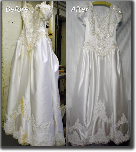 Wedding Gown Cleaning: Wedding Dress Cleaning
