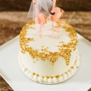 130x130 sq 1463759728238 round border gold pearl cake photo by christian gi