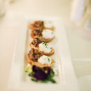 130x130 sq 1481214785052 bk wild mushroom crostini on sweetheart table
