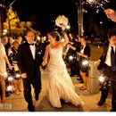 Sparkler Exit! Photo Courtesy Courtney Aliah Photography