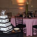 130x130 sq 1415815504779 pink wedding black chairs