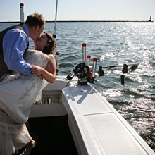 220x220 sq 1315413029376 lakemichiganbeachwaterboatweddingphoto