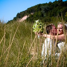220x220 sq 1315413061746 lakemichiganbeachweddingphoto