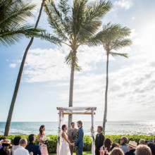 220x220 sq 1490636291316 hawaiiwedding 504