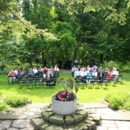 130x130 sq 1452783804094 holmdene garden ceremony view from top of steps