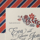 130x130 sq 1395174046978 folk floral letterpress sample