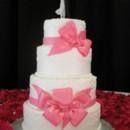 130x130 sq 1364788334361 pinkbowweddingcake