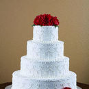 130x130 sq 1509859929 f1773f1472dc1b6a elegant cakery wedding cake