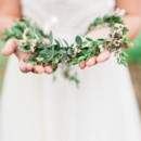 130x130 sq 1468289518849 floral crown of waxflower and foliage