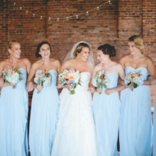 220x220 sq 1511110016678 danielle wedding color blues and peach  cannery
