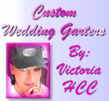 HCC Custom Wedding Garters