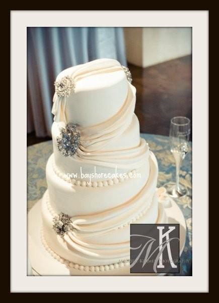 bayshore cakes wedding cake salt lake city ut weddingwire. Black Bedroom Furniture Sets. Home Design Ideas