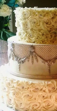 Wedding Cakes Near Decatur AL The Dessert Fork LLC