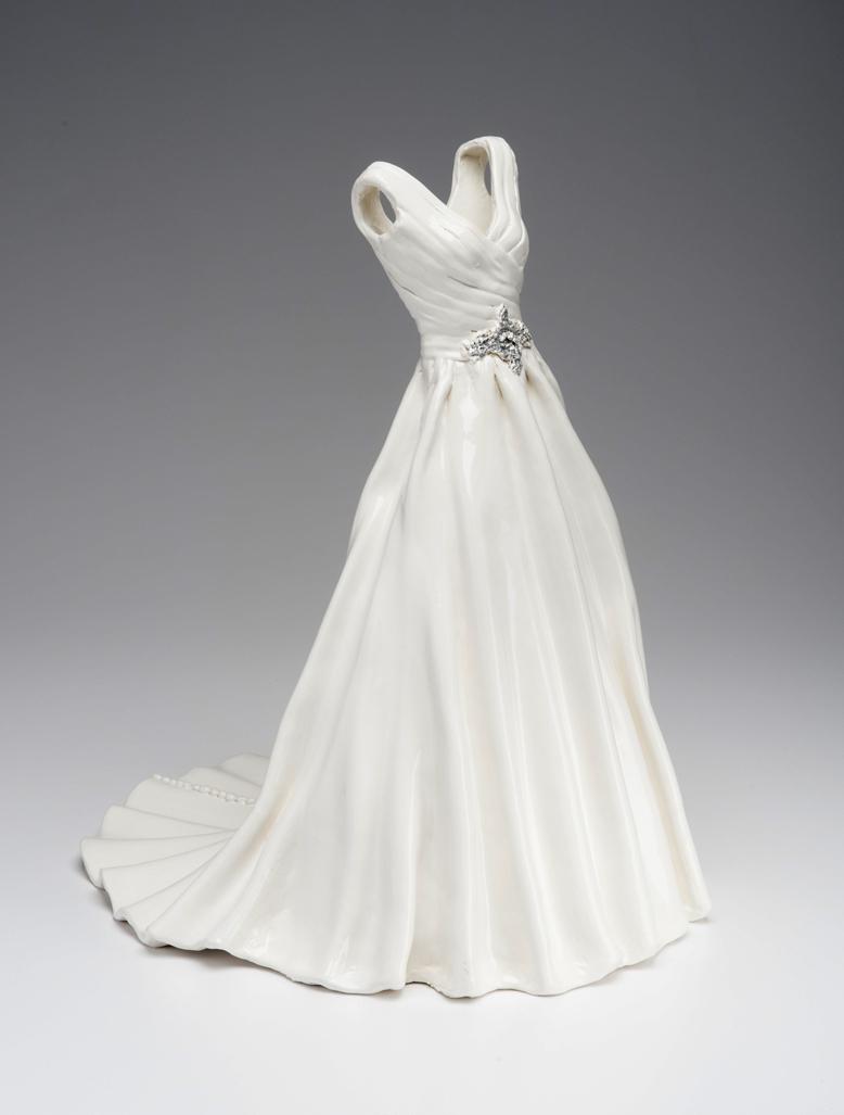 Cloth2clay ceramic bridal replicas dress attire for Wedding dress rental philadelphia