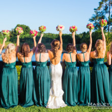 220x220 sq 1481726362885 holler 224 bride and gals with bouquets