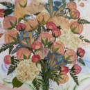 130x130 sq 1455045223978 bouquet painting