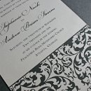 130x130 sq 1300985271018 damaskshimmerweddinginvitationforetsy4