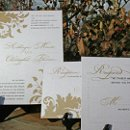 130x130 sq 1300985319346 goldleafshimmerweddinginvitationforetsy1