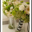 130x130 sq 1289443544062 rainflowercompanygreenwhitebouquets