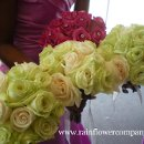 130x130 sq 1289476103077 rainflowercompanyjadegreenandivoryrosebouquets