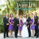 130x130 sq 1370456146581 natalie and chris  naples zoo wedding photographer  purple peacock feathers0015