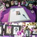 130x130 sq 1370456173730 natalie and chris  naples zoo wedding photographer  purple peacock feathers0021