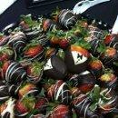 130x130 sq 1344441666780 chocolatecoveredstrawberries