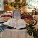 130x130 sq 1366819834388 buffet line with floral additions
