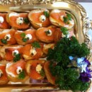130x130 sq 1366821432259 salamon canapes for queens celebration