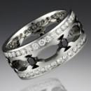 130x130 sq 1372278320748 hammered flush diamond wedding jewelry