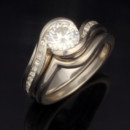 130x130 sq 1467923492833 cwve carved wave engagement ring with plain contou