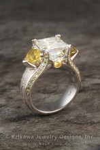 220x220 1415400059234 juicy light three stone engagement ring 9mm moissa