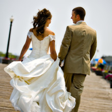 220x220 sq 1457633030782 mike  vanessa holley.boardwalk. walking. wedding