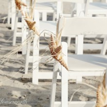 220x220 sq 1457633109298 beach wedding. chairs. decorations. star fish