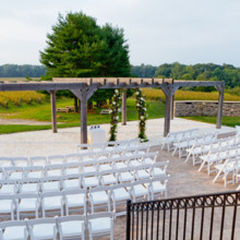 220x220 sq 1457645846192 laurita ceremony grand lawn chairs in arch facing