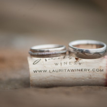 220x220 sq 1457645996000 wedding rings sitting on cork. laurita winery