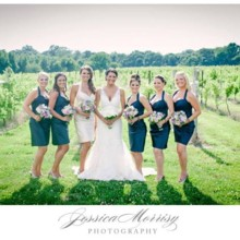 220x220 sq 1457724915165 bride and bridal party in vine yard at laurita win