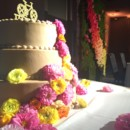 130x130 sq 1443589966260 cake with flower wall