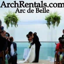 Arc de Belle Wedding Arch Chuppah Canopy Photo Booth Rentals