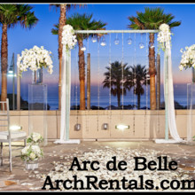 220x220 sq 1453252806075 manhattan ice modern wedding altar by arc de belle