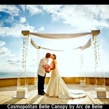 220x220 sq 1453253000180 lucite acrylic wedding chuppahcanopy rental in la