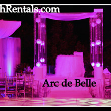 220x220 sq 1453254020012 acryliclucite wedding altarchuppah rentals by arc