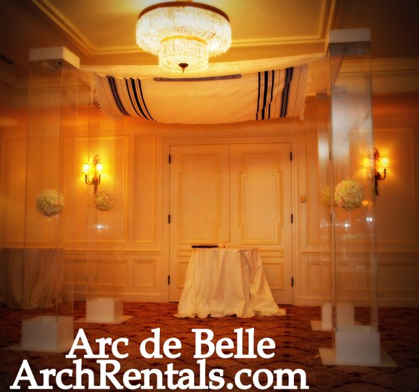 Wood Wedding Altar Canopy Rentals Los Angeles Orange: Arc De Belle ArchRentals.com Wedding Arch Chuppah Canopy