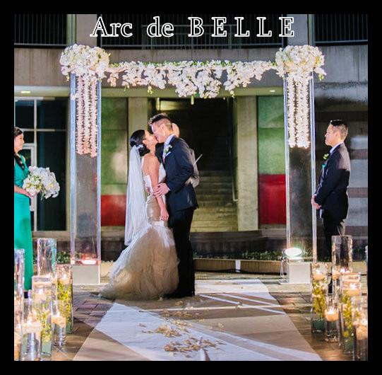 Wedding Altar For Rent: Arc De Belle Wedding Arch Chuppah Canopy & Photo Booth
