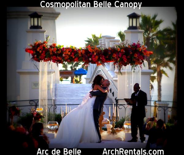 Arch Wedding Rental: Arc De Belle Wedding Arch Chuppah Canopy & Photo Booth