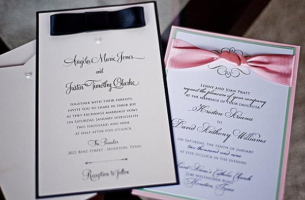 Isabella invitations houston tx wedding invitation for Laser cut wedding invitations houston