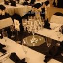130x130 sq 1389841487979 elegant silver 7 candle candelabra on black satin