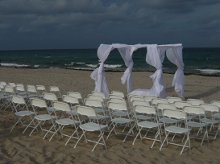 South Florida Weddings Wedding Officiants, Chuppah Rentals, Wedding Arches photo