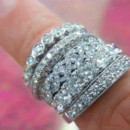 130x130 sq 1423171200312 ladies wedding rings edit